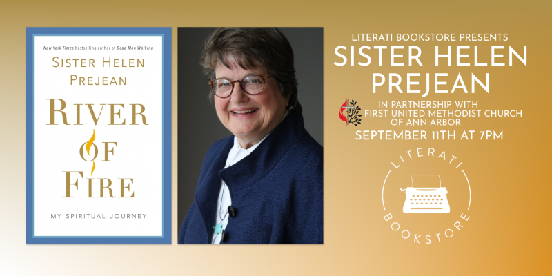 Literati Bookstore Presents Sister Helen Prejean at First United Methodist Church