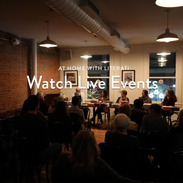 Watch Live Events at Literati Bookstore