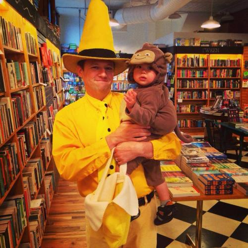 ... WANT AS LONG AS IT IS BOOK THEMED and win! Kids adults dogs all welcome to enter! And if you need some inspiration here are last yearu0027s entrants  sc 1 st  Literati Bookstore & Book Themed Halloween Costume Contest! | Literati Bookstore